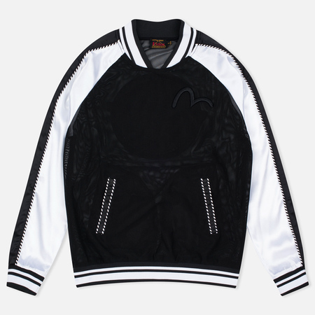 Evisu Badge Women's Sweatshirt Black