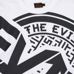 Женская толстовка Evisu Cross Body Cropped White фото- 2