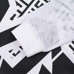 Женская толстовка Evisu Cross Body Cropped White фото- 3