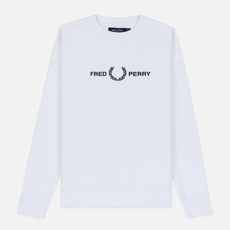 Женская толстовка Fred Perry Graphic White