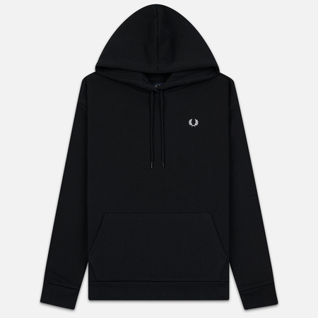 Женская толстовка Fred Perry Taped Hoodie Black