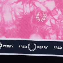 Женская толстовка Fred Perry Taped Tie-Dye Pink фото- 2