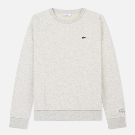 Женская толстовка Lacoste Sport Tennis Cotton Fleece Alpes Grey Chine