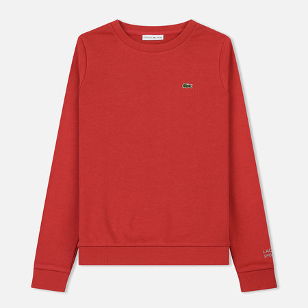 Женская толстовка Lacoste Sport Tennis Cotton Fleece Goji Red