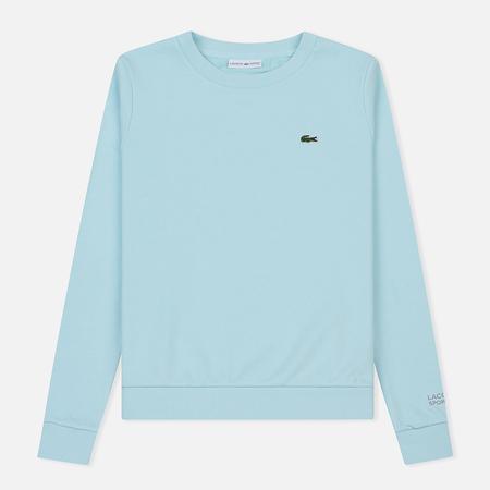 Женская толстовка Lacoste Sport Tennis Cotton Fleece Light Blue