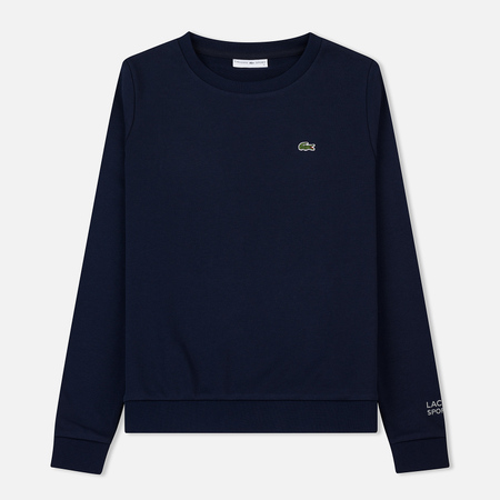 Женская толстовка Lacoste Sport Tennis Cotton Fleece Navy Blue