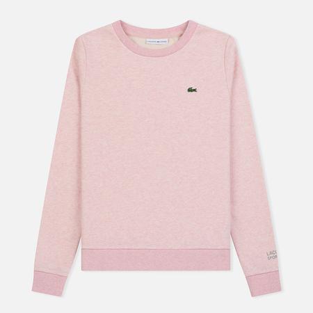 Женская толстовка Lacoste Sport Tennis Cotton Fleece Pink
