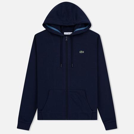 Женская толстовка Lacoste Sport Tennis Full Zip Hoodie Navy Blue/Blue