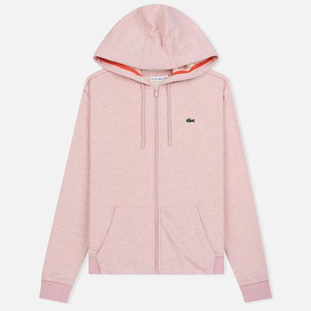 Женская толстовка Lacoste Sport Tennis Full Zip Hoodie Pink/Red
