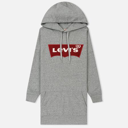 Женская толстовка Levi's Super Oversize Hoodie Grey