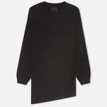 maharishi Asym Quilted Crew Women's Sweatshirt Black photo- 0