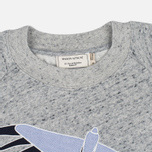 Maison Kitsune Bird Women's Sweatshirt Grey Melange photo- 1