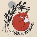 Женская толстовка Maison Kitsune Dan Ah Kim Asleep Ecru фото- 2