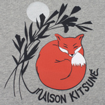 Женская толстовка Maison Kitsune Dan Ah Kim Asleep Grey Melange фото- 2
