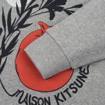 Женская толстовка Maison Kitsune Dan Ah Kim Asleep Grey Melange фото- 3