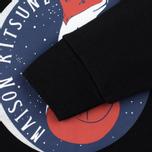 Женская толстовка Maison Kitsune Dan Ah Kim Moon Black фото- 3