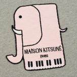 Женская толстовка Maison Kitsune Elephant Grey Melange фото- 2