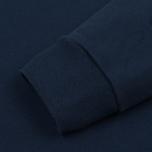 Женская толстовка Maison Kitsune Embroideries Dark Blue фото- 3