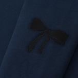 Женская толстовка Maison Kitsune Embroideries Dark Blue фото- 4