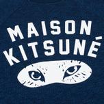 Женская толстовка Maison Kitsune Fox Eyes Indigo фото- 2