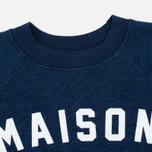 Женская толстовка Maison Kitsune Fox Eyes Indigo фото- 1