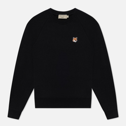 Женская толстовка Maison Kitsune Fox Head Patch Black