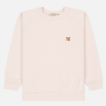 Женская толстовка Maison Kitsune Fox Head Patch Light Pink фото- 0