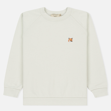 Женская толстовка Maison Kitsune Fox Head Patch Lunar