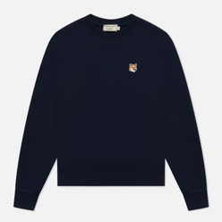 Женская толстовка Maison Kitsune Fox Head Patch Navy