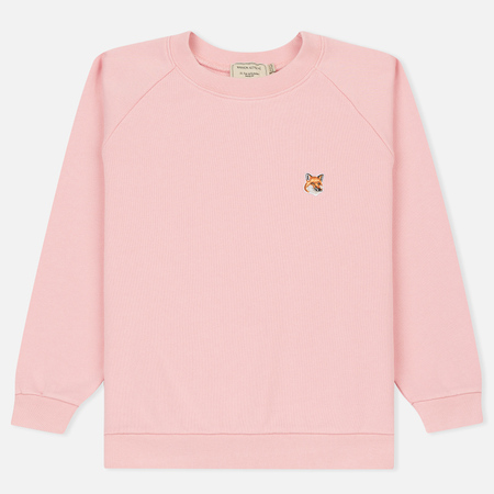 Женская толстовка Maison Kitsune Fox Head Patch Pink