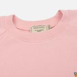Женская толстовка Maison Kitsune Fox Head Patch Pink фото- 1