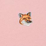 Женская толстовка Maison Kitsune Fox Head Patch Pink фото- 2