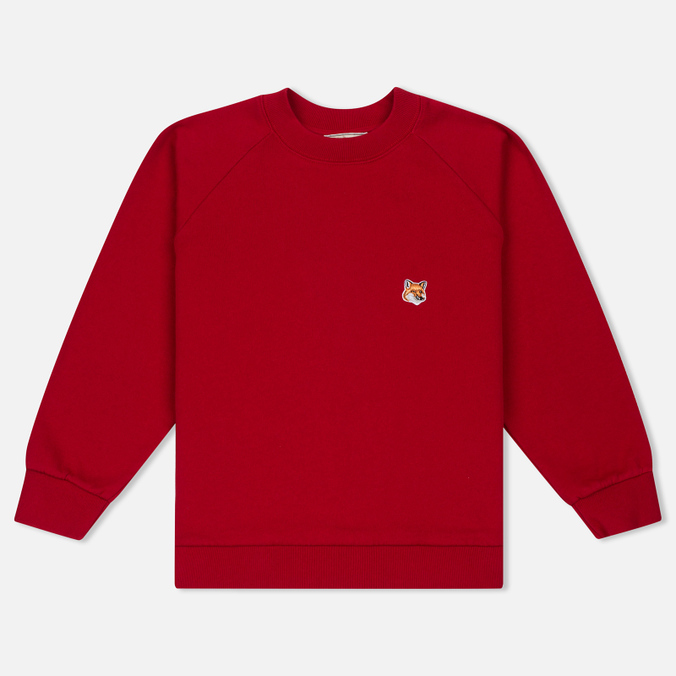 Женская толстовка Maison Kitsune Fox Head Patch Red
