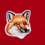 Женская толстовка Maison Kitsune Fox Head Patch Red фото- 2