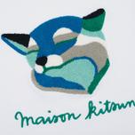 Женская толстовка Maison Kitsune Fox Ines Longevial White фото- 2