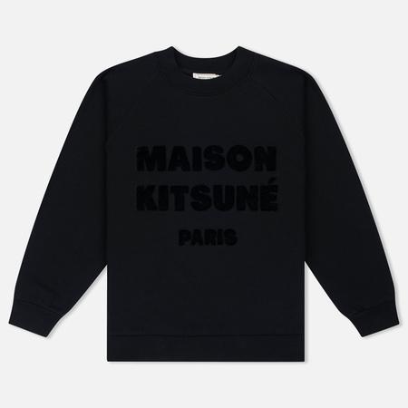 Женская толстовка Maison Kitsune Hair Print Black