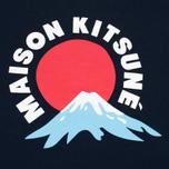 Женская толстовка Maison Kitsune Mont Fuji Navy фото- 2