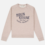 Женская толстовка Maison Kitsune Palais Royal Beige Melange фото- 0