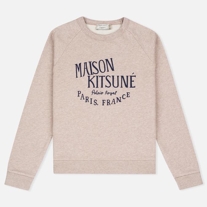 Женская толстовка Maison Kitsune Palais Royal Beige Melange