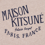 Женская толстовка Maison Kitsune Palais Royal Beige Melange фото- 2