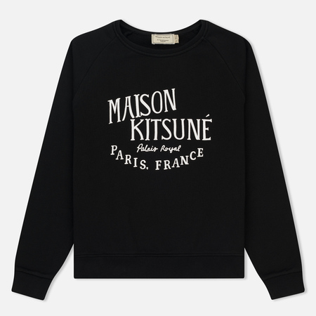 Женская толстовка Maison Kitsune Palais Royal Black