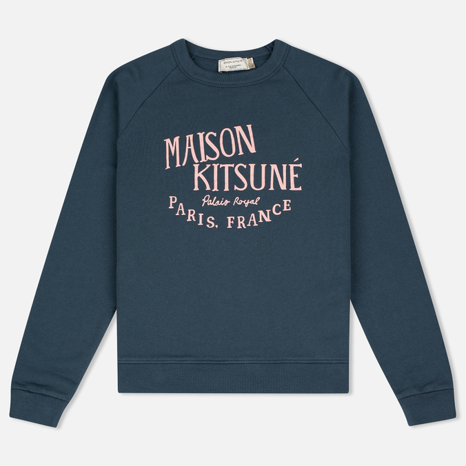 Женская толстовка Maison Kitsune Palais Royal Blue Storm