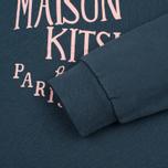 Женская толстовка Maison Kitsune Palais Royal Blue Storm фото- 3
