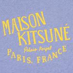 Женская толстовка Maison Kitsune Palais Royal Lavender Blue фото- 2