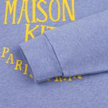 Женская толстовка Maison Kitsune Palais Royal Lavender Blue фото- 3