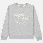 Женская толстовка Maison Kitsune Palais Royal Light Grey Melan фото- 0