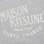 Женская толстовка Maison Kitsune Palais Royal Light Grey Melan фото- 2