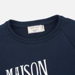 Maison Kitsune Palais Royal Women's Sweatshirt Navy photo- 1