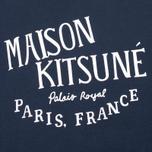Женская толстовка Maison Kitsune Palais Royal Navy фото- 2