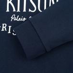 Женская толстовка Maison Kitsune Palais Royal Navy фото- 3